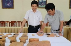 Scientists announce excavation results of central province's relics
