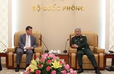 Deputy Defence Minister receives US Assistant Secretary of Defence