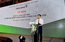 Vietcombank's pre-tax profit up 52 percent in six months