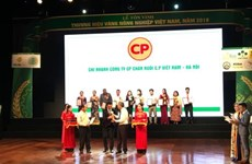 85 products win Vietnam Gold Farming Brand