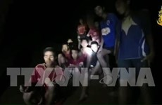 Thailand: more time needed to get soccer team out of cave