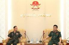 Lao Defence Ministry delegation welcomed in Vietnam