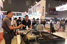 Machine, metalworking expo opens in HCM City