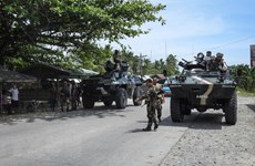 Philippines retakes southern town from pro-IS militants