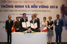 Vietnam-France forum on smart, sustainable urban areas