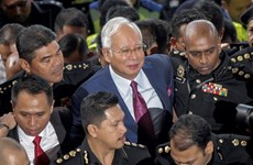 Former Malaysian PM's trial to begin in Feb 2019