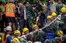 Australia sends more professionals to join rescue of Thai soccer team