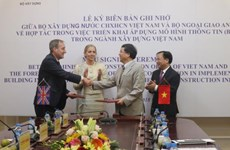 Vietnam, UK cooperate in building information model development