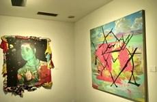 Artworks of Vietnamese, Korean artists showcased