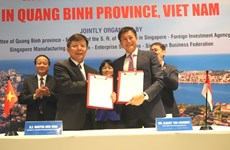 Quang Binh looks to expand links with Singaporean partners