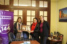 Vietnam Women's Union delegation active in Argentina