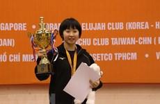Japan triumphs at int'l table tennis tourney in HCM City