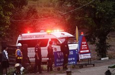 Thailand: Four more boys rescued from flooded cave