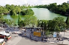 Hanoi air quality sees positive signs in July