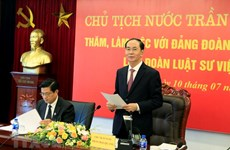 Vietnam Bar Federation urged to push judicial reform