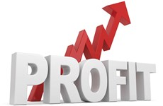 More listed businesses post profit gains in first half