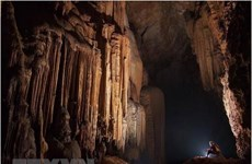 Quang Binh pilots tours of new caves