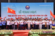 Vietnam Summer Camp 2018 kicks off in Phu Tho
