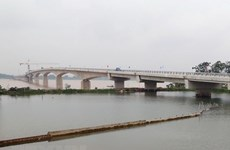 Viet Tri-Ba Vi Bridge across Red River to open for trial run on July 31