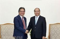 Prime Minister receives Malaysia's PEMANDU CEO