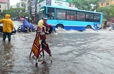 Downpour hitting northern region, causing widespread flooding