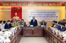 Ha Tinh province should strive for self-financing: PM
