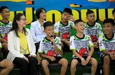 Thailand: Thank-you event for all involved in Tham Luang Cave rescue