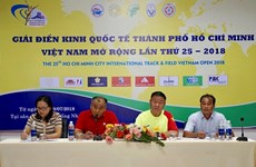 HCM City hosts int'l open track and field tourney