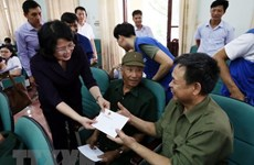 Officials visit war heroes in build up to War Invalids and Martyrs