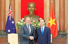 Vietnam, Australia bolster ties in key areas: President
