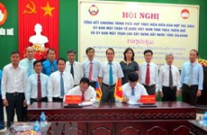 Thua Thien-Hue, Laos' Salavan province step up cooperation