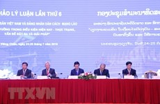 Vietnam – Laos theoretical workshop closes