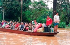 No Vietnamese victims reported in dam collapse in Laos