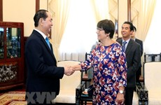 President bids farewell to outgoing Belgian ambassador