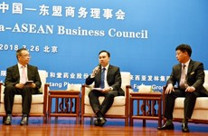 China, ASEAN hold dialogue on business opportunities