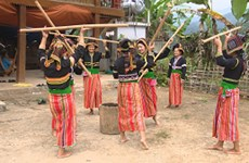 Cong ethnic people make efforts in preserving folk art