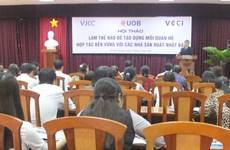 Vietnamese, Japanese firms seek to boost sustainable partnership
