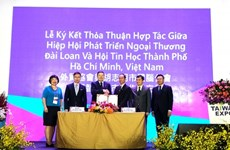 HCM City association inks smart city deal with Taiwanese partner