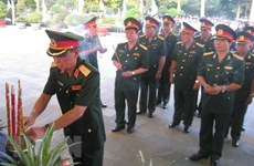 Tay Ninh: Memorial service held for fallen soldiers returned from Cambodia