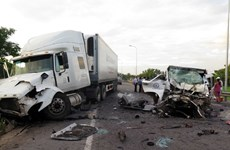 Quang Nam: Serious traffic accident kills 13, injures 4