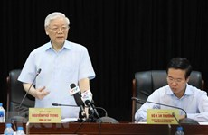 Party leader lauds information-education sector