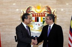 Foreign ministers of China, US, Australia visit Malaysia