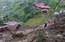 Landslides leave 6 dead, 4 missing in Lai Chau province