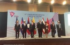 Vietnam attends Lower Mekong Initiative Ministerial Meeting