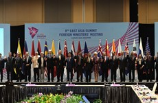EAS Foreign Ministers' Meeting agrees to reinforce marine cooperation
