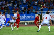 Vietnam beats Palestine 2-1 at U23 International Championship