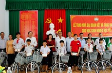Fatherland Front aids disadvantaged residents in Hau Giang