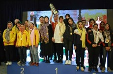 Vietnam's women win silver at Asian team chess championship