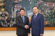 Vietnam, Thailand step up political, security cooperation