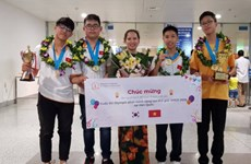 Vietnamese students earn big at Invention Creativity Olympic 2018